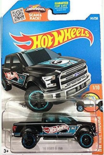 Hot Wheels, 2016 `15 Ford F-150 [Black] Die-Cast Vehicle #141/250