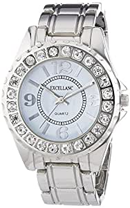 Excellanc Damen-Armbanduhr XS Analog Quarz verschiedene Materialien 150835500005