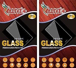 ALIVE PREMIUM TEMPERED GLASS PACK OF 2 FOR PANASONIC ELUGA SWITCH