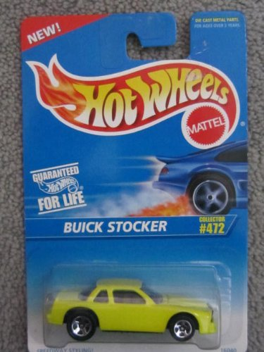1995 Hotwheels #472 Buick Stocker (yellow) - 1