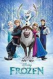 (24x36) Frozen Cast Movie Poster