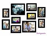 Enchantment photo gallery wall - Set of 10 Individual wall Photo Frames