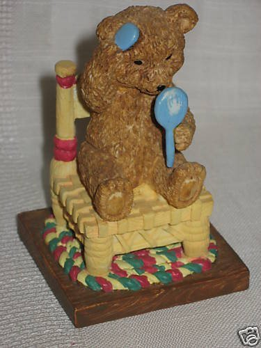 "Avon Days of Week Bears Mondays Bear Fair Face 3"" tall"