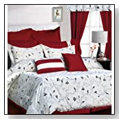 Mirage 12-Piece Cotton Bed in a Bag Cal King