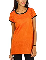 Aadit Women's Cotton Straight Kurti