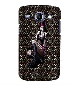 PrintDhaba Bold girl D-3004 Back Case Cover for SAMSUNG GALAXY MEGA 5.8 (Multi-Coloured)