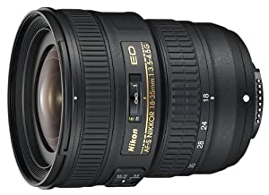 Nikon 18-35mm f/3.5-4.5G ED AF-S NIKKOR Lens for Nikon Digital SLRs
