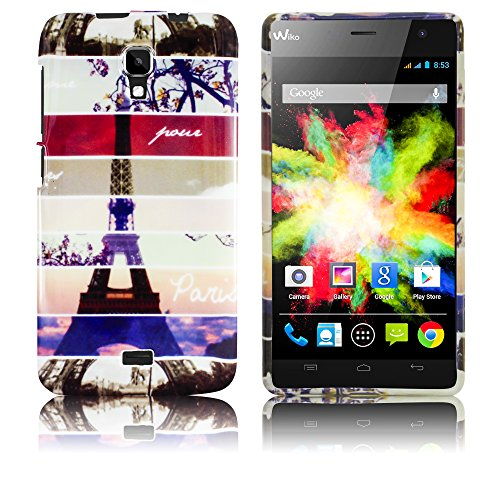 Wiko Bloom INSTAGRAM PARIS silicone case Cabina Telefonica smartphone bumper Flip bag Cover protection thematys®