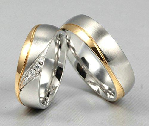 Beydodo-Edelstahl-Ring-fr-Herren-Eheringe-Engagement-Ringe-fr-Seine-1PCS-Silber-Gold-Gre-71-226