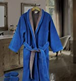 Cozy Robe with Slippers Faccia dei Colori Collection for Men