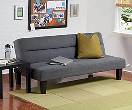 Dorel Home Products Kebo Futon Sofa Bed, Charcoal