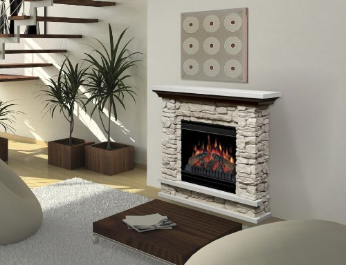 Review Of Dimplex Lincoln Electric Fireplace With 20 Inch
