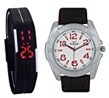 LegendDeal VOLGA Digital & Analog Casual Watch Combo For Mens and Boys