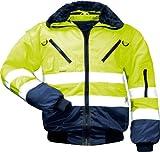Qualitex pilote-veste de travail veste eN 471 classe 3/4 eN 1 fonction-plusieurs coloris -  Jaune - Taille M