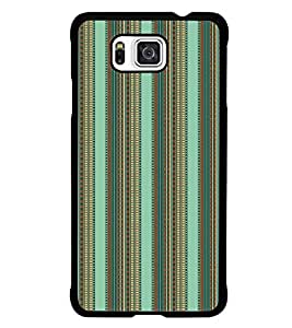 PrintDhaba Pattern D-5218 Back Case Cover for SAMSUNG GALAXY ALPHA (Multi-Coloured)