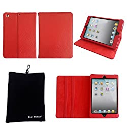 Bear Motion ® 100% Genuine Leather Folio Case for iPad Mini 7.85