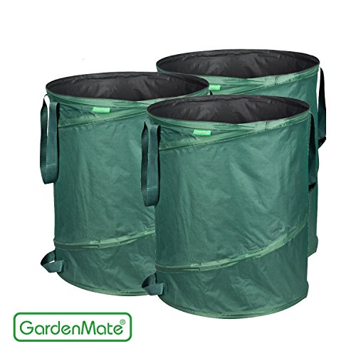gardenmate 3x pop up gartensack 160l selbstaufstellend. Black Bedroom Furniture Sets. Home Design Ideas