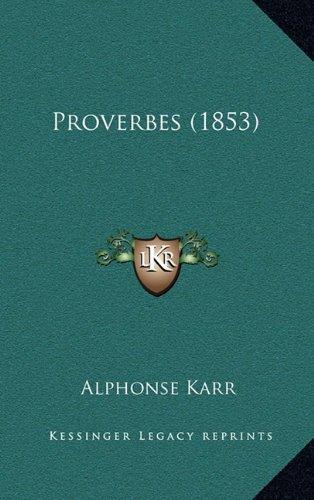 Proverbes (1853)