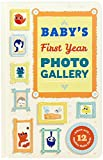 Abrams Noterie Baby's First Year Photo Gallery: Album with 12 Monthly Photo Cards