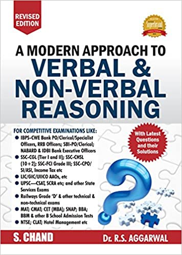 A Modern Approach to Verbal and Non-Verbal Reasoning by RS Aggarwal