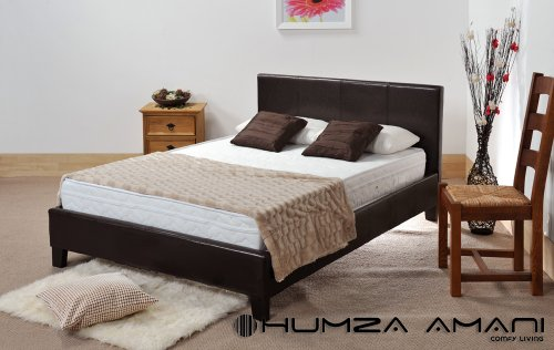 Small Double (4FT) Prado bed with Small double (4FT) Memory Spring soft mattress and get two memory foam FREE pillows worth £40.00