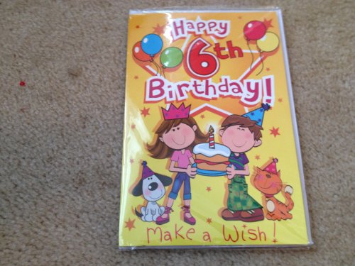 Happy 6th Birthday! Singing Birthday Card - 1