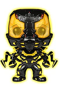Funko POP Movies: Ant-Man Glow in The Dark Yellow Jacket Action Figure