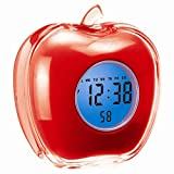 DivineXt Apple Shape Talking Digital Alarm Clock