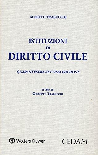 Istituzioni di diritto civile PDF