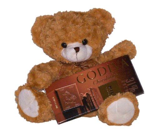 Cocoa the Teddy Bear & Godiva Milk Chocolate