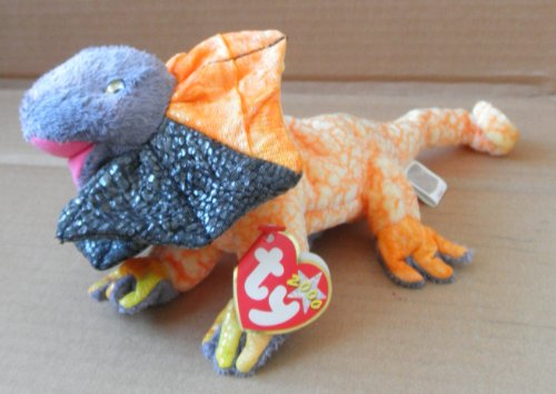 TY Beanie Babies Slayer the Dragon Stuffed Animal Plush Toy - 10 inches long - 1