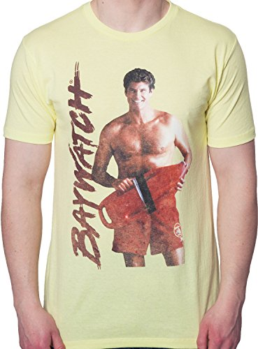 American Classics Men's Mitch Buchanan Baywatch T-Shirt