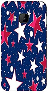 Timpax Protective Hard Back Case Cover With Easy access to all ports Printed Design : Stars in the sky.Specifically Design For : HTC-M9 ( M-Nine)