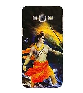 Bhagwan Ram 3D Hard Polycarbonate Designer Back Case Cover for Samsung Galaxy A8 (2015 Old Model) :: Samsung Galaxy A8 Duos :: Samsung Galaxy A8 A800F A800Y