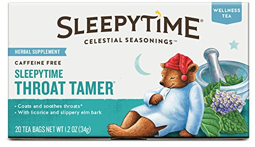 Why Should You Buy Celestial Seasonings Sleepytime Throat Tamer Tea, 20 Count