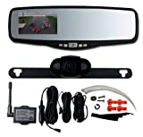 Peak PKC0RG Black Small Rear View Mirror with 3.5