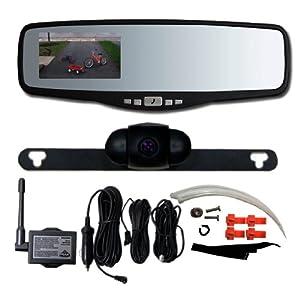 Amazon - Peak PKC0RG Rearview Mirror w/ backup camera - $74.95