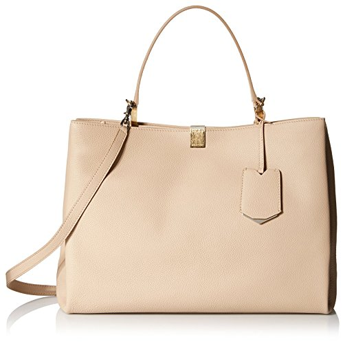 Balenciaga-Womens-Leather-Satchel-Beige