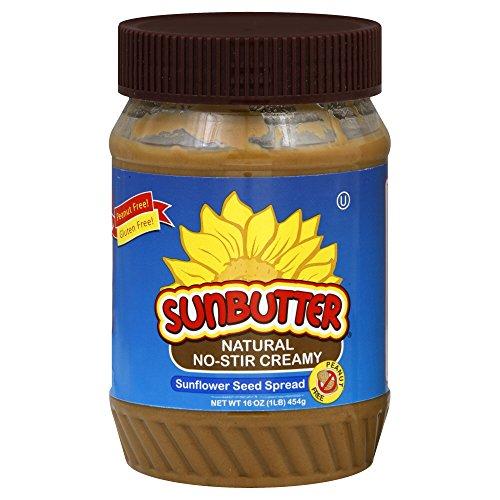 Sunbutter Natural No-Stir Creamy, 16-Ounce (Pack Of 6)