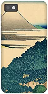 The Racoon Grip The Coast of Seven Leagues in Kamakura hard plastic printed back case / cover for Blackberry Z10