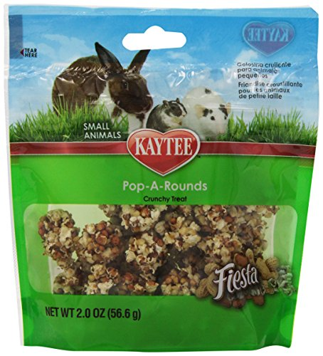 Kaytee Fiesta Pop-A-Rounds Treat for Small Animals 51xZuFh3pTL