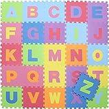 不二貿易 EVA キッズ パズル マット26枚セット アルファベット 10411