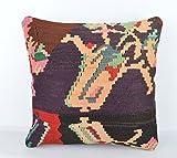 Wool Pillow, KP1066, Kilim Pillow, Decorative Pillows, Designer Pillows, Bohemian Decor, Bohemian Pillow, Accent Pillows, Throw Pillows