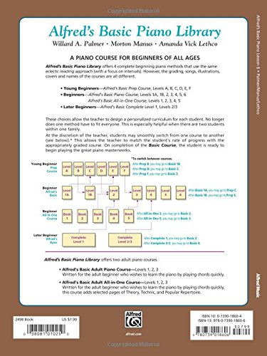 ALFREDS BASIC PIANO COURSE LESSON BOOK 6 (Alfred's Basic Piano Library)