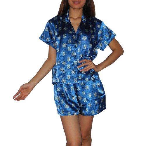 2Pcs: MLB Seattle Mariners Womens Gorgeous Pajama / Loungewear Set