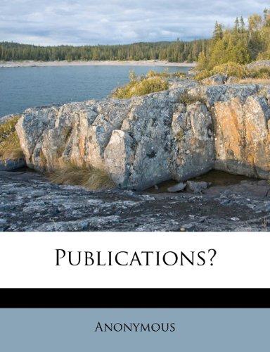Publications?
