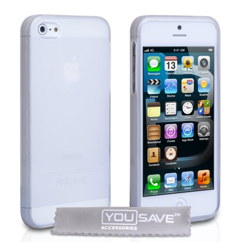 iPhone 5 Case iPhone 5 Clear Gel Silicone Cover