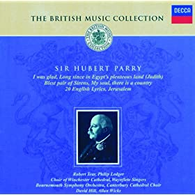 Sir Hubert Parry: Take, O Take Those Lips Away