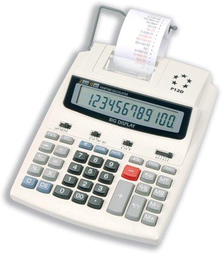 septy shop 5 star p12d calculatrice de bureau avec imprimante vfd 12 chiffres 2 7 lignes par. Black Bedroom Furniture Sets. Home Design Ideas