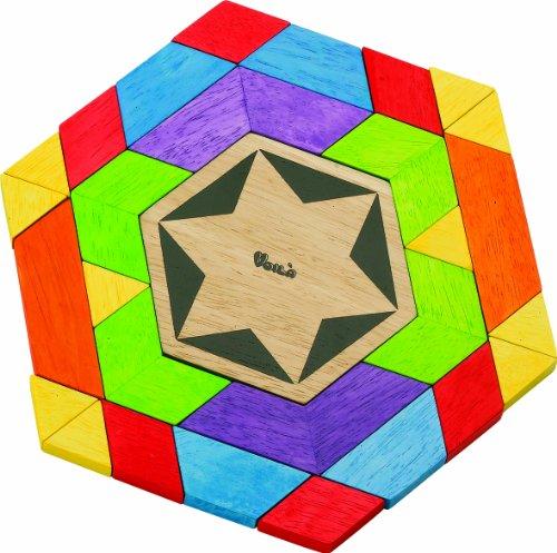 Cheap Fun Voila Toys Kaleido Fun Shape 3D Mosaic Puzzle (B0011F19HQ)